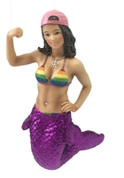 December Diamonds Empowered Mermaid Statue Figurine December Diamonds