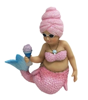 December Diamonds Cotton Candy Mermaid December Diamonds Statue Figure Ornament