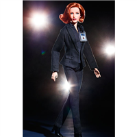 Barbie The X Files Agent Dana Scully Doll Black Label
