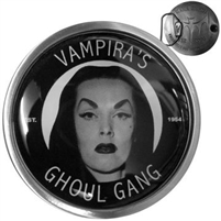 Vampira Ghoul Gang Belt Buckle