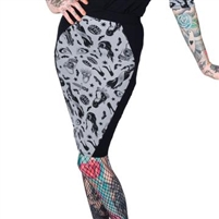 Elvira Comic Icons Coffin Pencil Skirt