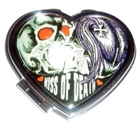 Kiss Of Death Heart Compact