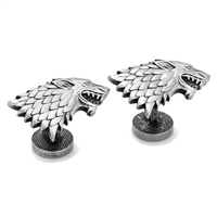 Game of Thrones Stark Direwolf Sigil Cufflinks