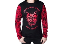 Devil Don't Care Longsleeve Top