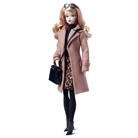 Silkstone Barbie Classic Camel Coat Fashion Model Collection : DGW54