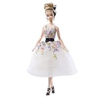 Silkstone Barbie Cocktail Dress Fashion Model Collection DGW56