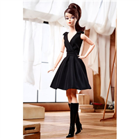 Silkstone Barbie Little Black Dress Articulated Fashion Model Collection