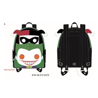 Pop by Loungefly DC Joker and Harley Quinn mini backpack