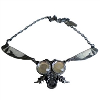Return Of The Fly Necklace Clear