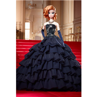 Silkstone Barbie Midnight Glamour Articulated Fashion Model Collection FRN96