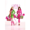 Juicy Couture Barbie Dolls Pink Fashion Gold Label Collection