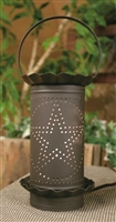 Large Punched Star Electric Wax Potpourri Warmer