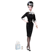 Silkstone Barbie Doll The Shopgirl Fashion Model Collection