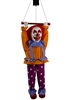 Animated Headless Clown Halloween Prop Trick or Treat Decorations