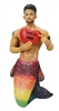 Love is Love Merman December Diamond Collectible Ornament