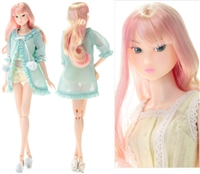 Momoko Sweet Dreams Doll Fluffy Lingerie Pastel Color Girl