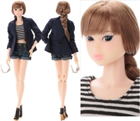 Sekiguchi momoko Doll Lady Long Leg Complete Doll from Japan