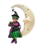 December Diamonds Which Witch Minerva Ornament at boodee.net