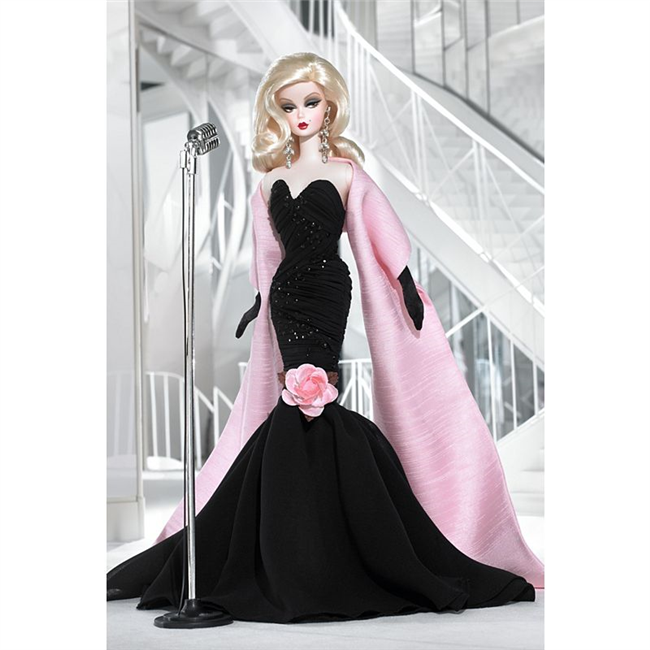 Silkstone Barbie Stunning In The Spotlight Fashion Model Collection N6603