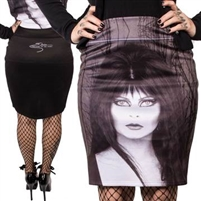 Elvira Glam Witch Pencil Skirt