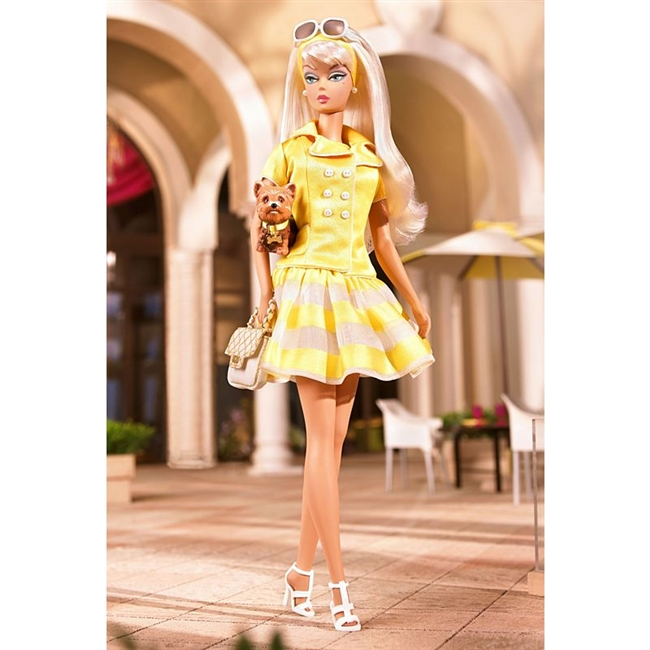 Silkstone Barbie Palm Beach Honey Fashion Model Barbie Doll R4485