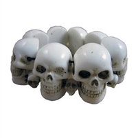 White Skull Collection Bracelet