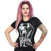 Vampira Love Hate Womens Tee