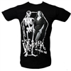 Vampira Love Hate Mens Tshirt