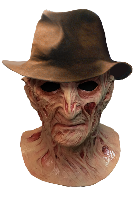 A Nighmare On Elm Street 4 The Dream Master Lifelike Mask With Fedora Hat