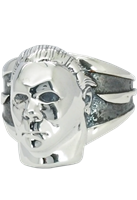 Michael Myers Halloween Sterling Silver Ring Trick or Treat