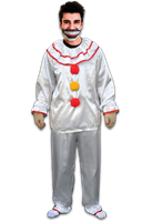 American Horror Story Twisty The Clown Costume with Mouthpiece