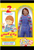 Childs Play 2 Deluxe Adult Good Guys Costume Lifelike Chucky Costume