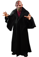 Gothic Opera Coat Adult Real Looking Halloween Costume