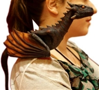 Game of Thrones Dragon Lifelike Shoulder Halloween Prop Trick or Treat