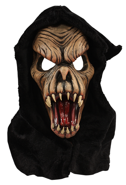 Classic Zagone Studios Collection - 1977 Brown Fang Face Halloween Mask