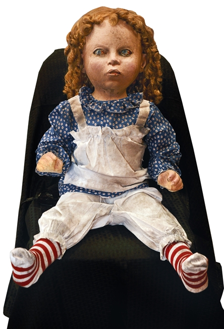 Halloween Trick Or Treat Deadly Doll Prop
