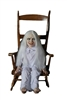 Ghost Girl Latex Lifelike Doll Animated Halloween Prop Trick or Treat