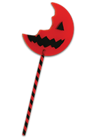 Trick r Treat SAM Bitten Lollipop Prop