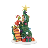 Dept 56 Grinch Villages It Takes Two, Grinch & Cindy-Lou Statue Figurine at boodee.net