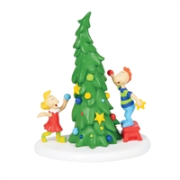 Dept 56 Grinch Villages Who-Ville Christmas Tree Statue Figurine at boodee.net