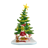 Dept 56 Grinch Villages Welcome Xmas Day Statue Figurine at boodee.net