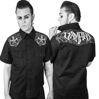 Vampira Cob-West Western Men's Shirt