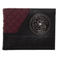 Game of Thrones House Targaryan Bifold Wallet