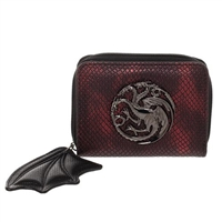 Game of Thrones Targaryen Zip-Around Bifold Wallet