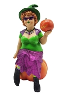 December Diamonds Which Witch Agatha Ornament at boodee.net