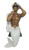 Anchors Away Merman December Diamond Collectible Figurine Statue