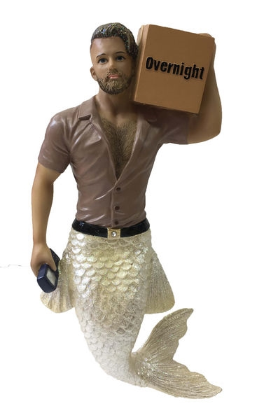 Big Package Merman December Diamond Collectible