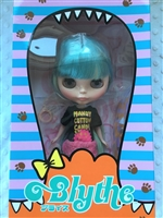 Mandy Cotton Candy Neo Blythe Doll with colored box