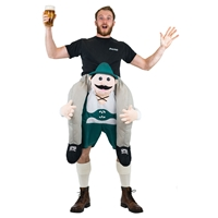 Inflatable Piggyback Lederhosen Costume  Halloween Costume One Size Fits All