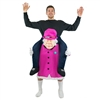 Inflatable Piggyback Queen Elizabeth  Halloween Costume One Size Fits All